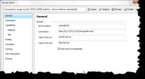 ArcGIS 10.1 Service Editor