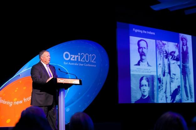 Mike King presenting at Ozri 2012