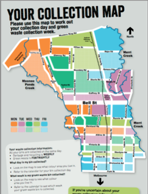 Waste Collection Map